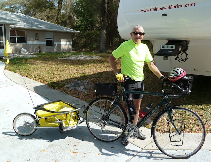 Chuck with Bike / RV